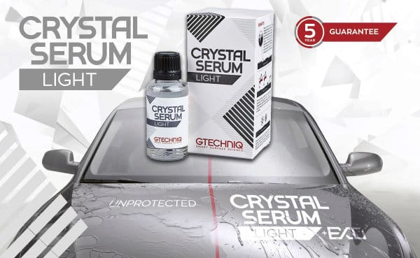 Gtechniq Crystal Serum Light Banner